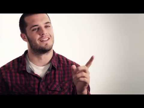 Derek Carr Interview 5/7/2014 video.