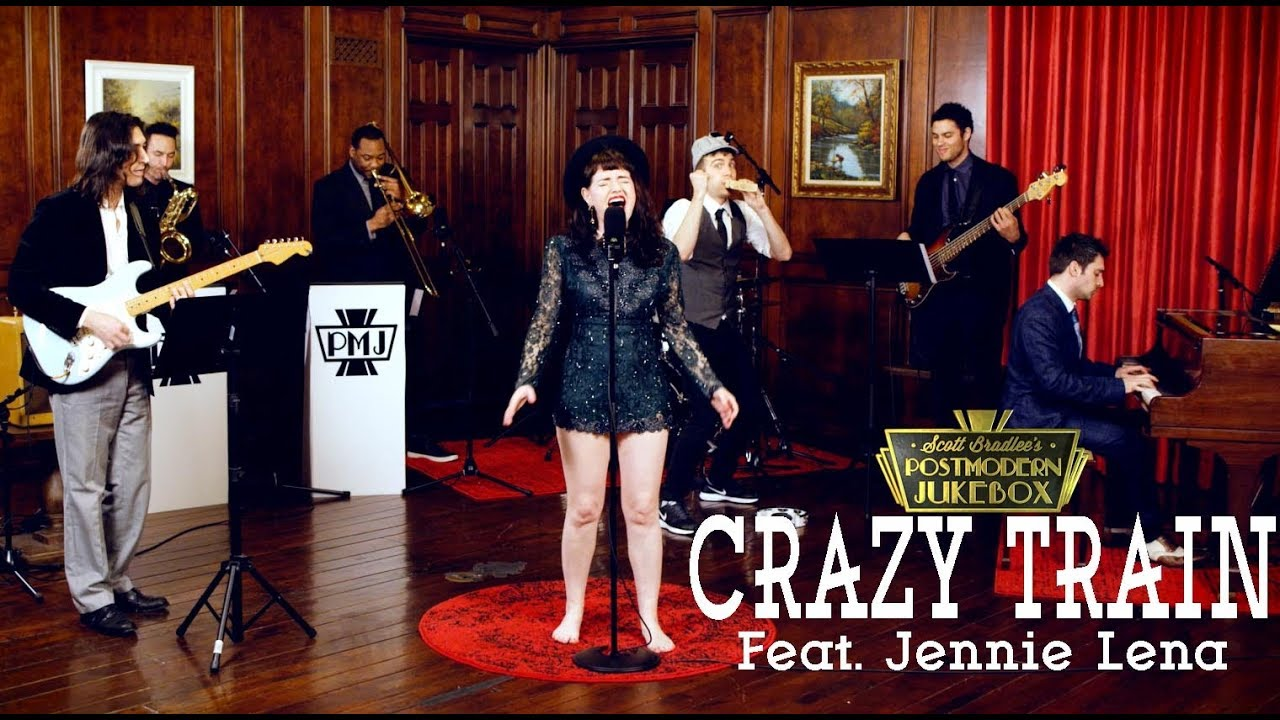 Crazy Train – Ozzy Osbourne (Motown Style Cover) ft. Jennie Lena