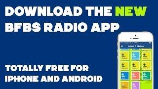BFBS Radio Mobile APP YouTube video