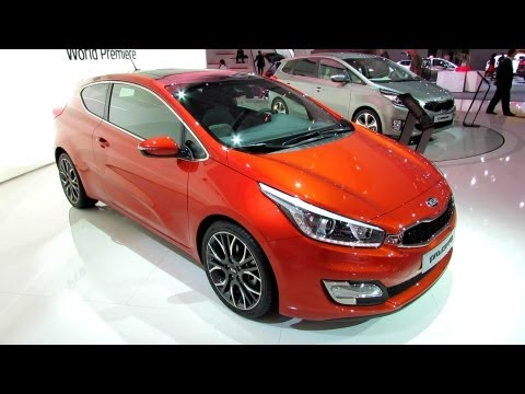 2013 KIA Pro Ceed - Exterior and Interior Walkaround - World Premiere