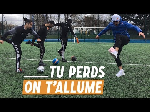 TU PERDS ON T'ALLUME Feat S3 Freestyle - Balotelli Challenge