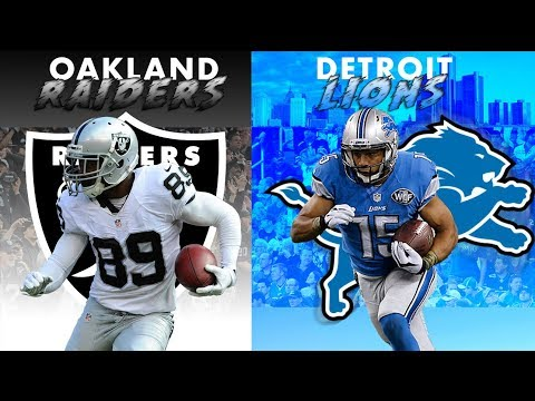 Raiders vs Lions Preview || Preseason Week 1 2018
