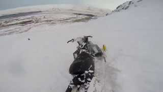 9. Ski-doo 800 xp 2008 goes wrong