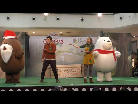 Christmas with We Bare Bears Live in 4K! Christmas in Singapore 2019!