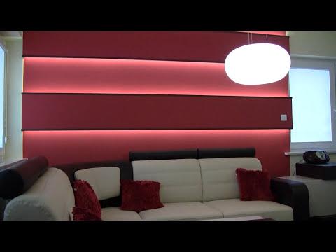 Oświetlenie LED mieszkania