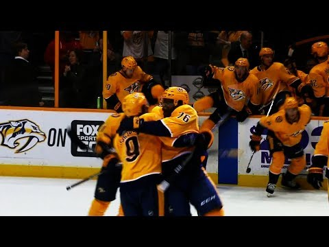 Video: Predators complete miraculous 3-goal comeback with penalty shot OT winner against Blues