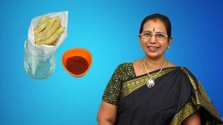 Finger Chips | Mallika Badrinath Recipes  | Snacks