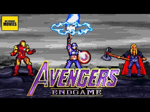Avengers Endgame Final Battle - 16 Bit Scenes