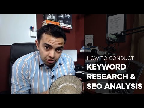 Keyword Research and SEO Analysis