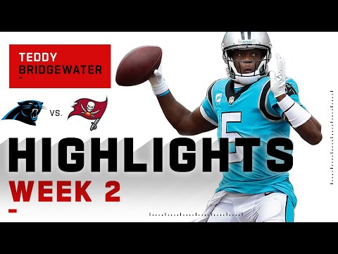 Teddy Bridgewater's HUGE Passing Day w/ 387 Yds | NFL 2020 Highlights