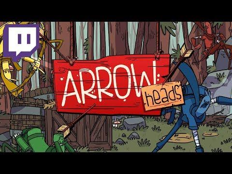 Arrow Heads - #2 - Unlocking New LOOT! (4 Player Gameplay)