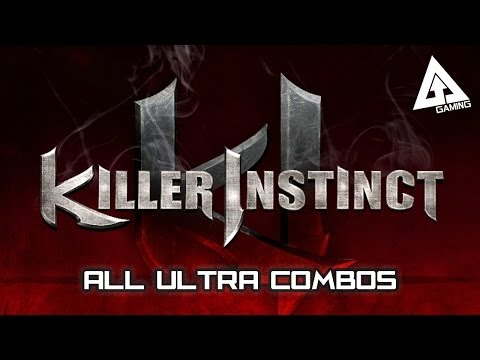 All Character Ultra Combos - Killer Instinct Gameplay - All Ultra Combos (Xbox One) . Please show support by liking, sharing or commenting. It really helps! Thanks in advance :] . Feel f...