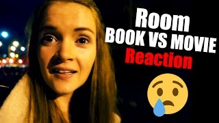 Room 2015 Book VS Movie REACTION