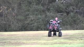 8. Playing with Yamaha Raptor 700r SE