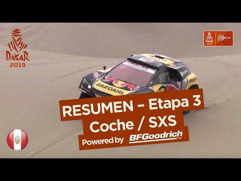 Dakar - Etapa 3 Resumen autos