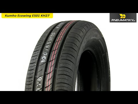Youtube Kumho Ecowing ES01 KH27 185/60 R15 88 H XL Letní