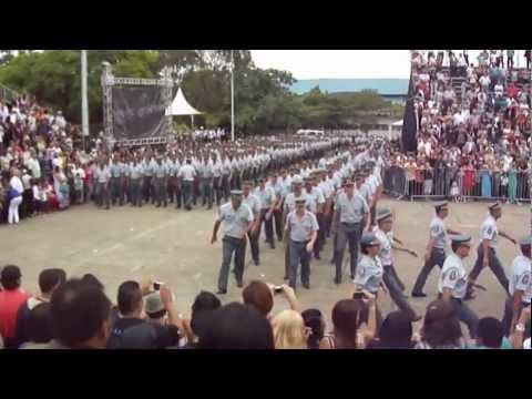 Desfile de encerramento do Curso de Formação de Sargentos - 19 de outubro de 2012