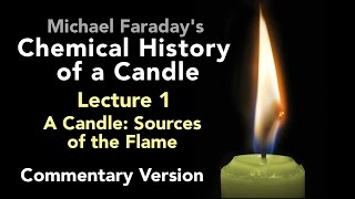 "Bill Hammack & Don DeCoste highlight the key points of Lecture One of Michael Faraday's lectures on The Chemical History of a Candle. A free companion book helps modern viewers understand each lecture — details at http://www.engineerguy.com — as does a commentary track and closed captions for each lecture.►Free Companion book to this video series http://www.engineerguy.com/faradayText of Every Lecture  Essential Background  Guides to Every Lecture  Teaching Guide & Student ActivitiesIn these lectures Michael Faraday's careful examination of a burning candle reveals the fundamental concepts of chemistry, while at the same time superbly demonstrating the scientific method. In this lecture  Faraday focuses on the physical changes occurring in the candle, for example, how the wax moves from the candle into the flame. LINKS TO OTHER VIDEOS IN THIS SERIES► Lectures(1/6) Introduction to Michael Faraday's Chemical History of a Candlehttps://www.youtube.com/watch?v=RrHnLXMTOWM(2/6) Lecture One: A Candle: Sources of its Flamehttps://www.youtube.com/watch?v=6W0MHZ4jb4A(3/6) Lecture Two: Brightness of the Flamehttps://www.youtube.com/watch?v=B8vSLgaW9WQ(4/6) Lecture Three: Products of Combustionhttps://www.youtube.com/watch?v=31pLJyReFXw(5/6) Lecture Four: The Nature of the Atmospherehttps://www.youtube.com/watch?v=v1DWHeouJYM(6/6) Lecture Five: Respiration & its Analogy to the Burning of a Candlehttps://www.youtube.com/watch?v=Fb4RoPEtwso► Bonus Videos: Lectures with CommentaryLecture One: A Candle: Sources of its Flame (Commentary version)https://www.youtube.com/watch?v=ce0g0e9NmgQLecture Two: Brightness of the Flame (Commentary version)https://www.youtube.com/watch?v=grWNnVB9B-4Lecture Three: Products of Combustion (Commentary version)https://www.youtube.com/watch?v=0s8anLurWp0Lecture Four: The Nature of the Atmosphere (Commentary version)https://www.youtube.com/watch?v=WLgxPKU-JsILecture Five: Respiration & its Analogy to the Burning of a Candle (Commentary version)https://www.youtube.com/watch?v=tCmZfnT6_M4►Subscribe now!  https://www.youtube.com/subscription_center?add_user=engineerguyvideo►Become an advanced viewer of Engineer Guy videos - help evaluate early draftshttp://www.engineerguy.com/previewCOMPANION BOOK DETAILSThe companion book is available as an ebook, in paperback and hardcover — and for free as a PDF. Details on all versions are at http://www.engineerguy.com/faradayMichael Faraday's The Chemical History of a Candlewith Guides to the Lectures, Teaching Guides & Student ActivitiesBill Hammack & Don DeCoste190 pages  5 x 8  14 illustrationsHardcover (Casebound)  ISBN 978-0-9838661-8-0  $24.95Paper ISBN 978-1-945441-00-4 $11.99eBook  ISBN 978-0-9839661-9-7  $3.99Audience: 01 — General TradeSubjectsSCI013000   SCIENCE / Chemistry / GeneralSCI028000   SCIENCE / Experiments & ProjectsSCI000000   SCIENCE / GeneralEDU029030  EDUCATION / Teaching Methods & Materials / Science & TechnologyThis book introduces modern readers to Michael Faraday's great nineteenth-century lectures on The Chemical History of a Candle. This companion to the YouTube series contains supplemental material to help readers appreciate Faraday's key insight that ""there is no more open door by which you can enter into the study of science than by considering the physical phenomena of a candle."" Through a careful examination of a burning candle,  Faraday's lectures introduce readers to the concepts of mass, density, heat conduction, capillary action, and convection currents. They demonstrate the difference between chemical and physical processes, such as melting, vaporization, incandescence, and all types of combustion. And the lectures reveal the properties of hydrogen, oxygen, nitrogen, and carbon dioxide, including their relative masses and the makeup of the atmosphere. The lectures wrap up with a grand, and startling, analogy: by understanding the chemical behavior of a candle the reader can grasp the basics of respiration. To help readers understand Faraday's key points this book has an ""Essential Background"" section that explains in modern terms how a candle works, introductory guides for each lecture written in contemporary language, and seven student activities with teaching guides.Author BiosBill Hammack is a Professor of Chemical & Biomolecular Engineering at the University of Illinois—Urbana, where he focuses on educating the public about engineering and science. He is the creator and host of the popular YouTube channel engineerguyvideo. Don DeCoste is a Specialist in Education in the Department of Chemistry at the University of Illinois—Urbana, where he teaches freshmen and pre-service high school chemistry teachers. He is the co-author of four chemistry textbooks."