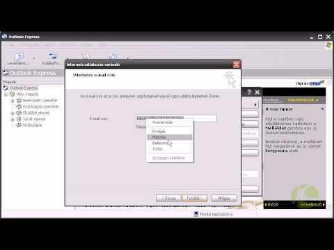 MS Outlook Expressz fiókbeállítás