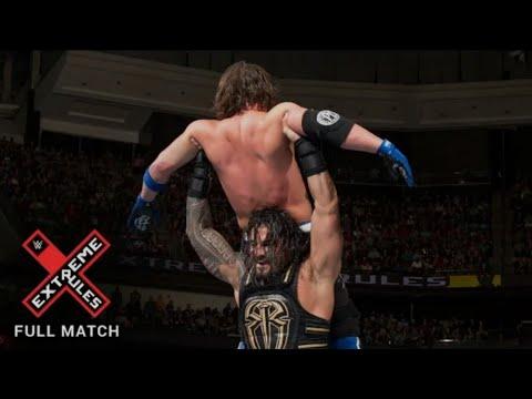 FULL MATCH - Roman Reigns vs. AJ Styles - WWE World Heavyweight Title Match: Extreme Rules 2016