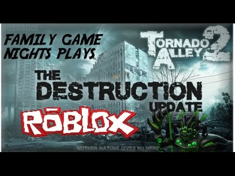 Family Game Nights Plays: Roblox - Tornado Alley 2 (PC)