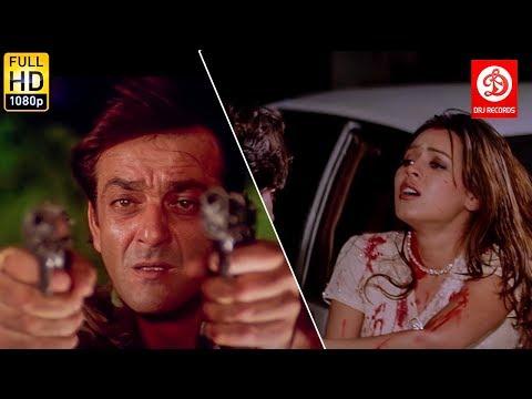 Sanjay Dutt Planning to Kill Mahima Chaudhry & Chandrachur Singh | Daag the fire | Hindi Action Film