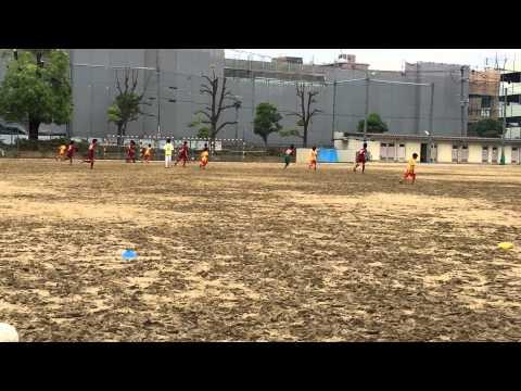 2015.5.16 vs 旭陽中学校& 東陽中学校 (FC Salva de Souza/サルヴァ ジ ソウザ)