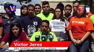Estudiantes universitarios Trujillanos se pronuncian en contra y a favor del Gobierno
