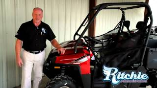 4. 2013 Polaris Ranger 800 EFI Sunset Red LE