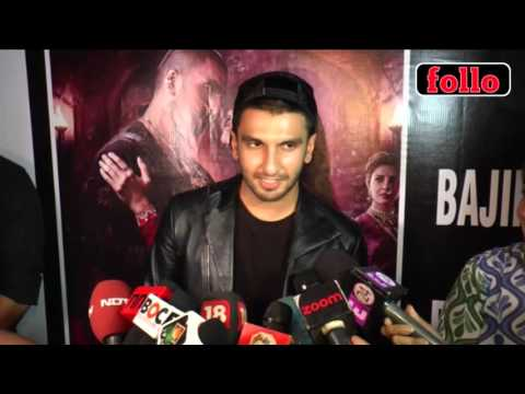 All Credit Goes To Mr. Bhansali: Ranveer Singh