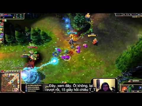 Liên Minh Huyền Thoại: Cười đau bụng khi xem các cao thủ tập chơi Gnar