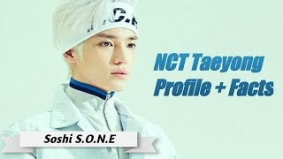 NCT Taeyong Profile + Facts