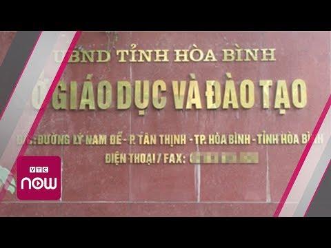 Bộ CA trả 28 thí sinh gian lận điểm thi về Hòa Bình | VTC Now - Thời lượng: 46 giây.