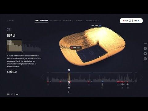 Neue Technologie misst Fanenergie im Stadion