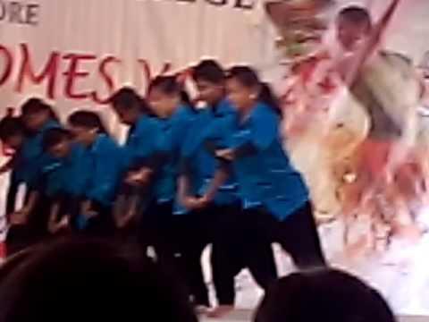 Bishop Ambrose CLG girls dance