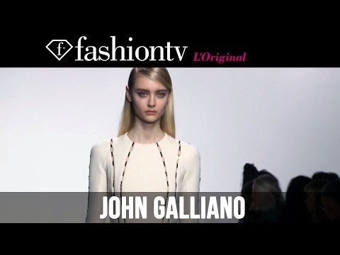 fashiontv - http://www.FashionTV.com/videos PARIS - Since Bill Gaytten replaced John Galliano as creative director in 2011, he has slowly been moving away from the signa...