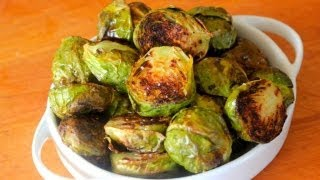 Roasted brussels sprouts are hands down the most delicious way to eat this nutritious veggie. I show you my favorite way to roast...