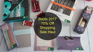 Every January Boots have 70% off and this year we vlogged the haul.