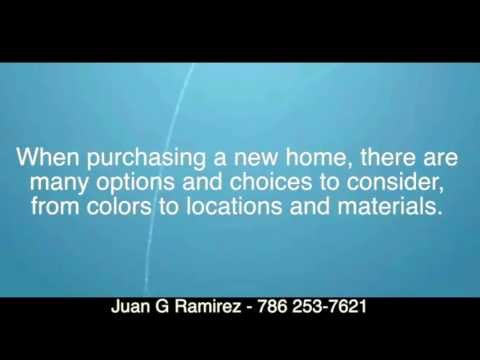 Buying New Construction and Pre construction in Miami | Juan G Ramirez — 786 253-7621
