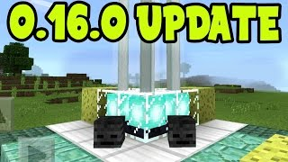 NEW UPDATE!! Minecraft Pocket Edition 0.16.0 UPDATE Gameplay! ALL MCPE 0.16.0 Addons, Behavior Packs