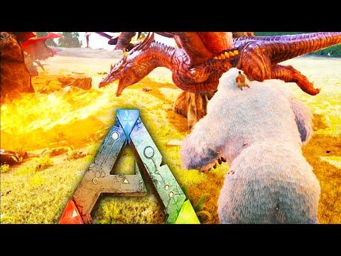 ARK Survival Evolved  - Kong, Dragon, Broodmother Brawl w/ Mau5Craft, FavrMySabre, everynightxRIOT