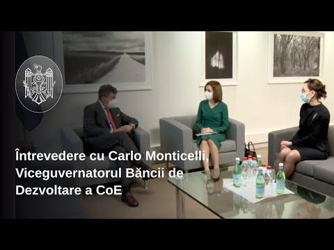 Banca de Dezvoltare a CoE va continua să sprijine proiecte de dezvoltare în Republica Moldova