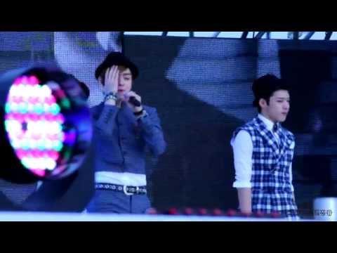 [130510]MusicBank(뮤직뱅크) C-CLOWN(씨클라운) - 흔들리고있어(Shaking Heart)[FANCAM]
