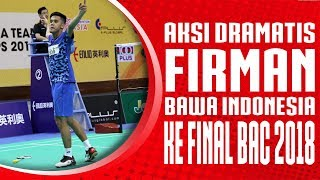 Video Aksi Dramatis Firman Abdul Kholik bawa Indonesia ke Final Badminton Asia Team Championships 2018 MP3, 3GP, MP4, WEBM, AVI, FLV Februari 2018