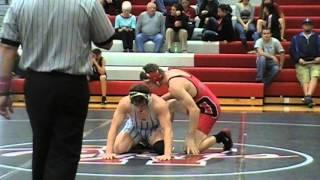 Randy Stevenson Odessa vs Josiah Lentz Bolivar 170 lbs
