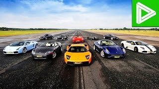 These insane supercars are faster than you can click the like button Subscribe for more Top 10 videos: http://bit.ly/Top10z Cars featured in this video: McCl...