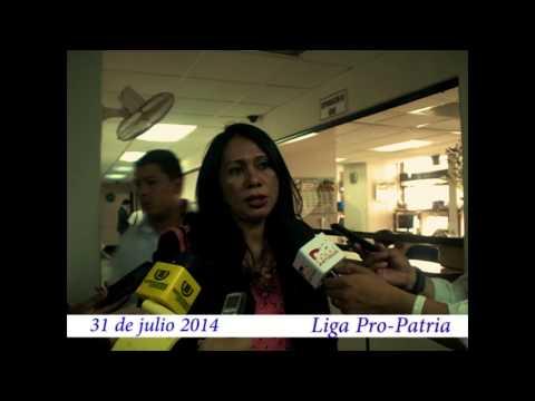 """Video. """"Entrega de papelería antejuicio CSJ (31 jul 2014)"""