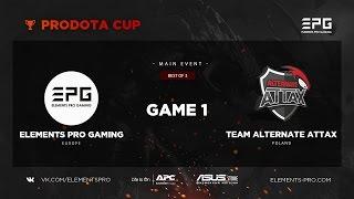 Elements Pro Gaming vs Team Alternate Attax bo3 @ Prodota Cup Semi-final. game 1