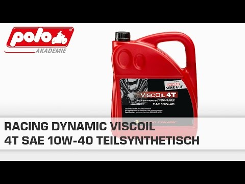 RACING DYNAMIC Viscoil 4T SAE 10W-40 Teilsynthetisch 4000ml
