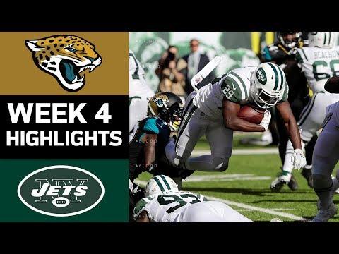 Video: Jaguars vs. Jets | NFL Week 4 Game Highlights